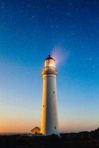 Personal Honesty; Photo of a lighthouse