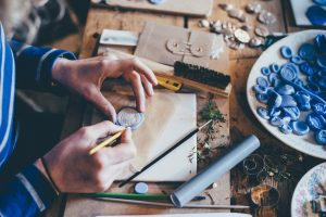 Personal Mastery. Image of a Crafts person